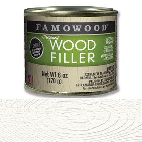 White Glaze Wood Filler Solvent Based 6 oz
