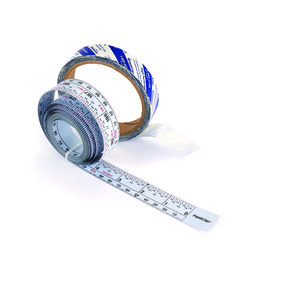 Self-Adhesive 16' Measuring Tape Reversible Left or Right Read, Metric and Standard