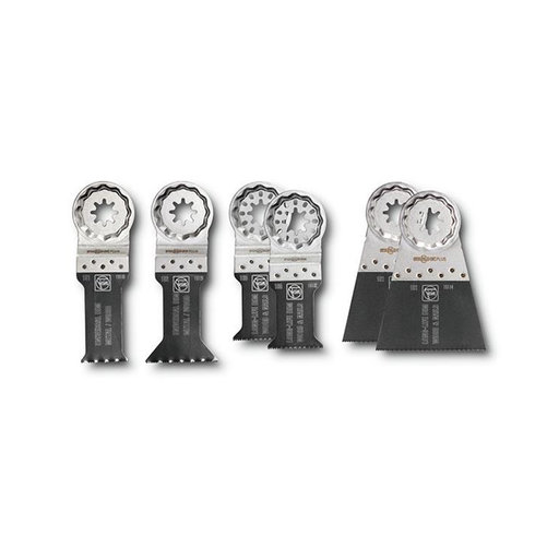 View a Larger Image of STARLOCK PLUS Blade Set Best of E-Cut, 6pc