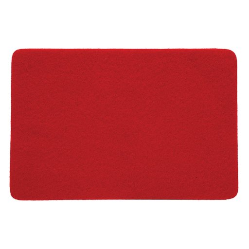 """View a Larger Image of Felt 12"""" x 24"""" Self-adhesive Red Sheet"""