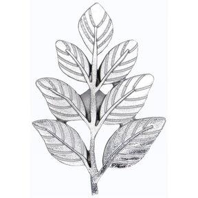 Fern Leaf Knob Nickel