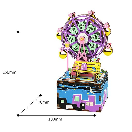 View a Larger Image of Ferris Wheel Music Box Kit