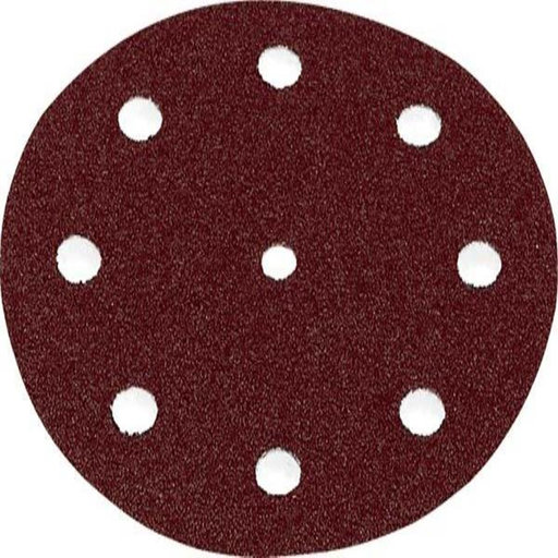 View a Larger Image of 125 mm Rubin2 StickFix Hook and Loop Sanding Disc P80 Grit 50 pk