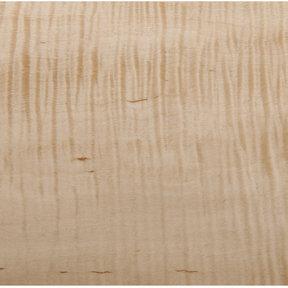 Figured Maple Veneer Sheet Rotary Cut Heavy Curl 4' x 8' 2-Ply Wood on Wood