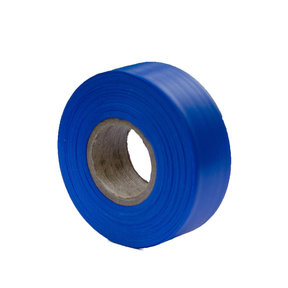 """Flagging Tape Blue 300' X 1-3/16"""" Pack of 12"""