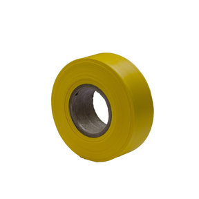"""Flagging Tape Yellow 300' X 1-3/16"""" Pack of 12"""