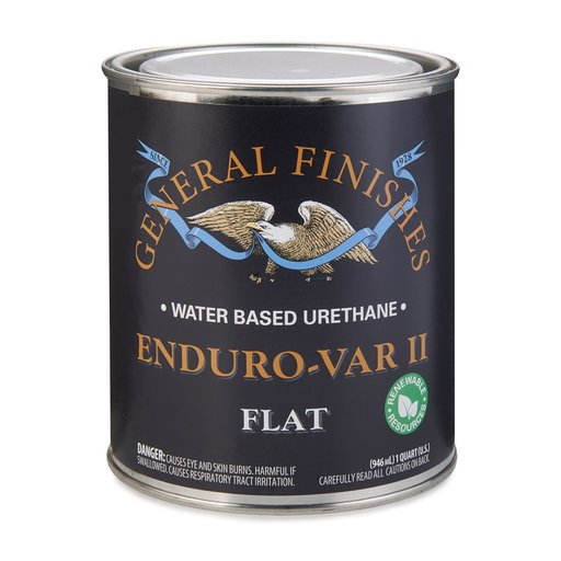 View a Larger Image of Flat Enduro Var II Varnish Water-Based Quart