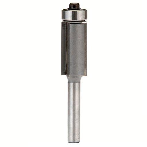 "View a Larger Image of Flush-Trim Two Flute Bit, 1/4"" SH, 1/2"" D x 1"" CL, 2-1/2"" OL -  Whiteside# 2402"