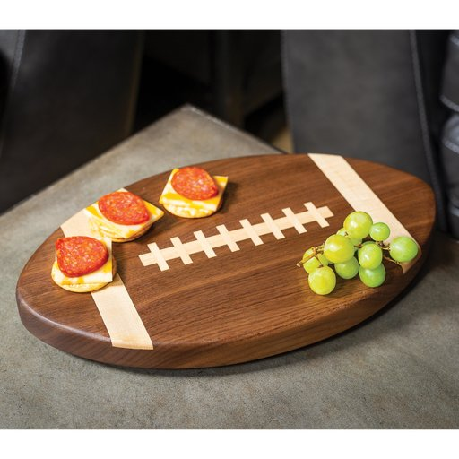 View a Larger Image of Football Cutting Board Downloadable Plan