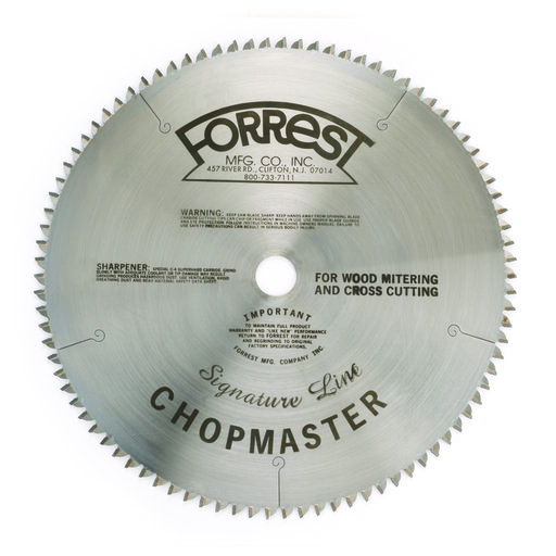 """View a Larger Image of Chopmaster Signature Line Circular Saw Blade 12"""" x 90 Tooth"""