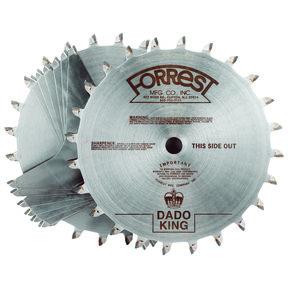 """Circular Saw 8"""" Dado King Set"""