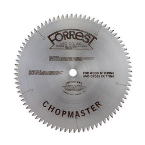 "CM12806115 Chopmaster Circular Saw Blade 12"" x 80 Tooth"
