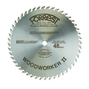 """Woodworker II Saw Blade 10"""" x 48 Tooth"""