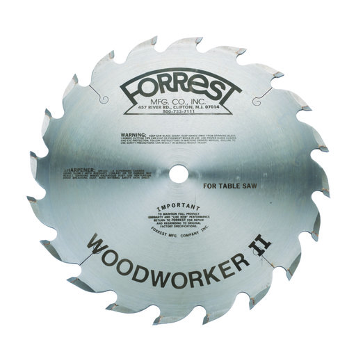 """View a Larger Image of WW10206125 Woodworker II Rip Blade Alt Top Raker 10"""" x 20 Tooth ATB .125"""""""