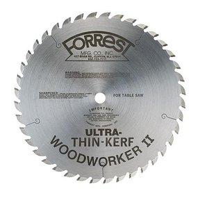 "WW10407080 Woodworker II Ultra Thin Kerf (.080"") 10"" X 40Tooth, 5/8"" arbor"