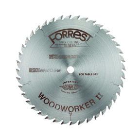 "WW10407125 Woodworker II Carbide Tipped Circular Saw Blade 10"" x 40 Tooth"