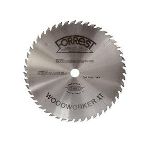 "WW12487125 Woodworker II Saw Blade, 12"" x 48T, .125"" Kerf x 1"" Bore, ATB"