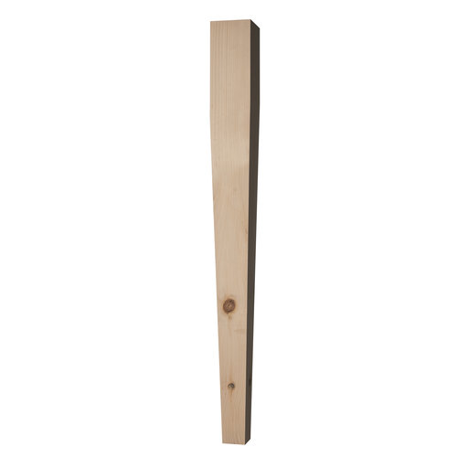 View a Larger Image of Four Sided Tapered Leg Pine