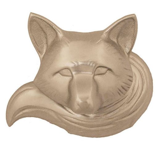 View a Larger Image of Fox Door Knocker - Nickel Silver