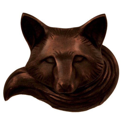 View a Larger Image of Fox Doorbell Ringer - Oiled Bronze