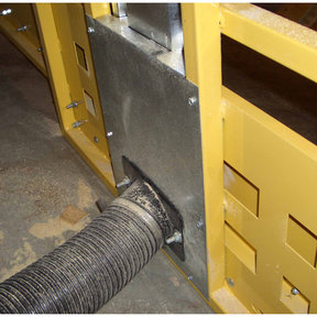 Frame Dust Collection for Saw Trax Panel Saw