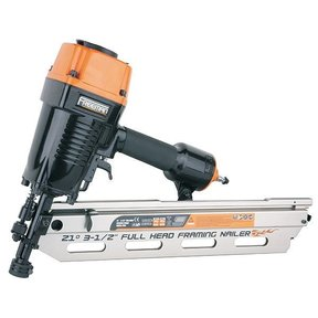 21 Degree Full Head Framing Nailer with Interchangeable Triggers, Model PFR2190