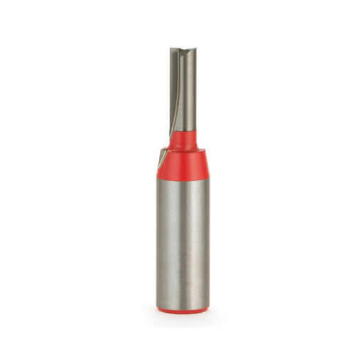"""View a Larger Image of 04-108 Double Flute Straight Router Bit 1/4"""" SH 1/4""""D 1""""CL"""