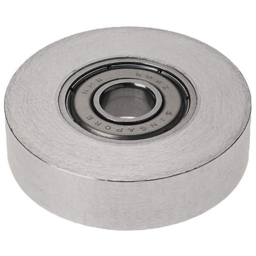"""View a Larger Image of 1-1/2"""" Dia. 5/16"""" Inside Dia. 10mm Ht. Sleeved Ball Bearing"""