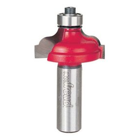 """38-224 Ogee Router Bit with Fillet 1/2"""" Shank 1-1/2"""" D 3/4"""" CL 1/4"""" R"""