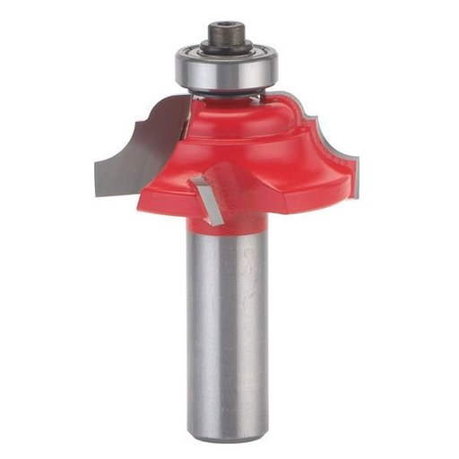 """View a Larger Image of 38-312 Quadra-Cut Cove And Bead Router Bit 1-5/32"""" Diameter 1/2"""" Shank"""