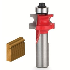 """80-122 Traditional Beading Router Bit 1/8"""" R 5/8"""" D 5/8"""" CL 1/2"""" SH"""