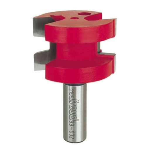 """View a Larger Image of 99-032 Wedge Tongue Router Bit 1/2"""" Shank"""