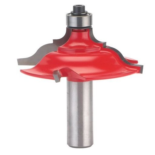 """View a Larger Image of 99-450 Quadra-Cut Table Edge And Handrail Router Bit 1/2"""" Shank 2-1/2"""" Diameter"""