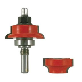99-860 Adjustable Tenon Double-Sided Door Cutter Round Profile Router Bit