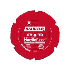 """D1006DH Diablo Hardie Blade, 10"""" diameter, 5/8"""" arbor, 6 teeth TCG (PCD)"""