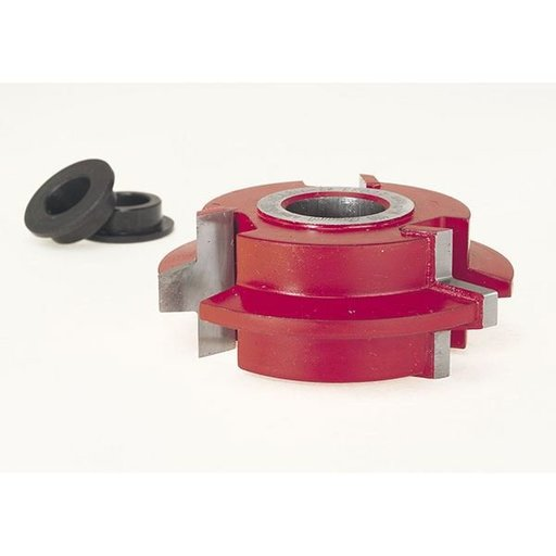 """View a Larger Image of EC-033 Wedge Tongue & Groove Shaper Cutter, 2-7/8"""" OD, 5/16"""" CD, 1-7/64"""" CL, 3/4"""" bore"""