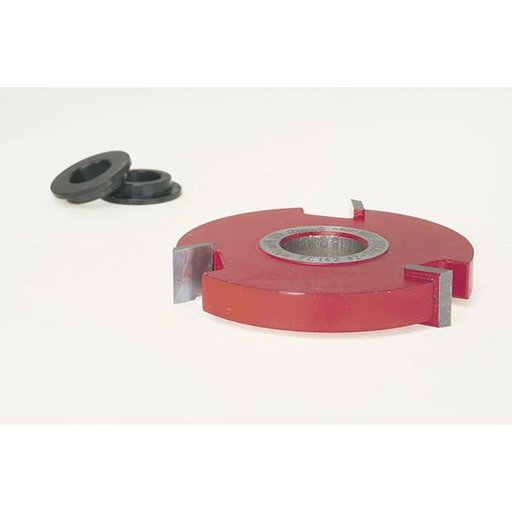 """View a Larger Image of EC-142 Straight Edge Shaper Cutter, 2-7/8"""" OD, 1/2"""" CL, 3/4"""" bore"""