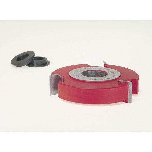 """View a Larger Image of EC-143 Straight Edge Shaper Cutter, 2-7/8"""" OD, 5/8"""" CL, 3/4"""" bore"""