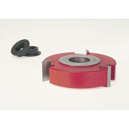 """View a Larger Image of EC-144 Straight Edge Shaper Cutter, 2-7/8"""" OD, 3/4"""" CL, 3/4"""" bore"""