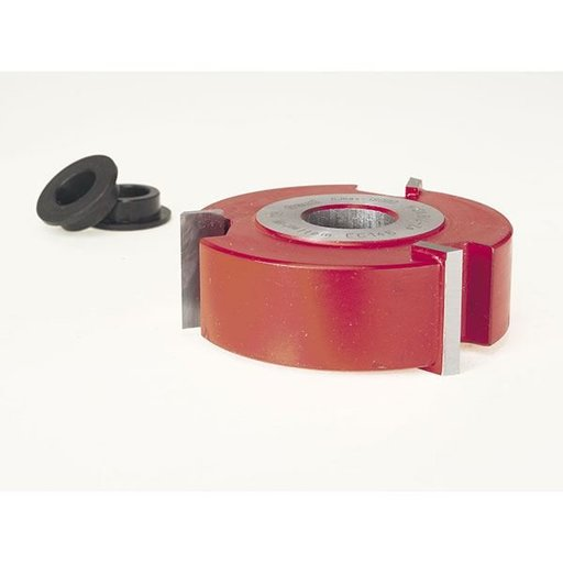 """View a Larger Image of EC-146 Straight Edge Shaper Cutter, 2-7/8"""" OD, 1"""" CL, 3/4"""" bore"""