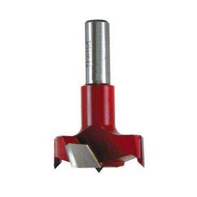 Industrial Carbide Tipped Cylinder Boring Bit, 25mm D x 57.5mm L x 10mm Sh x Left, # CB25057L