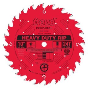 """LM72R010 Ripping Saw Blade 10"""" x 5/8"""" Bore x 24 Tooth Flat Top"""