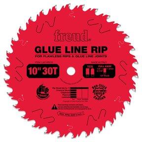 "LM74R010 Glue Line Ripping Circular Saw Ripping Saw Blade 10"" x 5/8"" Bore x 30 Tooth"
