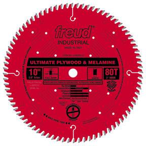 """LU80R010 Finish Circular Saw Blade 10"""" x 5/8"""" Bore x 80 Tooth Hi-ATB"""