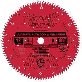 "LU80R012 Circular Saw Blade 12"" x 1"" Bore x 96 Tooth Hi-ATB"