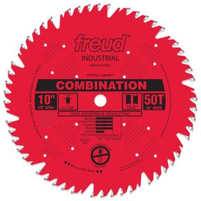 "LU84R011 Perma-Shield Circular Saw Blade 10"" x 5/8"" Bore x 50 Tooth Combination"