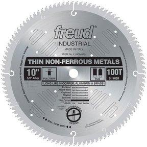 "LU90M010 Circular Saw Aluminium Saw Blade 10"" x 5/8"" Bore x 100 Tooth TCG"