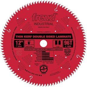"LU96R012 Laminate Circular Saw Blade 12"" x 1"" Bore x 96 Tooth Top Center Grind"