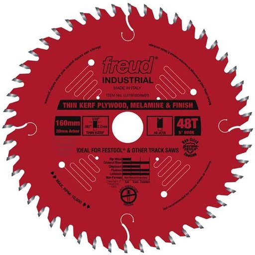 View a Larger Image of Thin Kerf Ultimate Plywood & Melamine Track Saw Blade