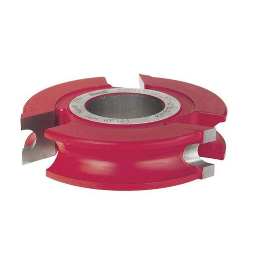 """View a Larger Image of UP121 Concave Radius Shaper Cutters, 3-9/16"""" OD, 13/16"""" CL, 1-1/4"""" bore"""